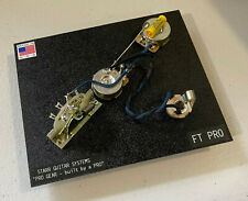Fender Telecaster Electronics Upgrade! CTS, CRL, & Mallory Cap! NEW!
