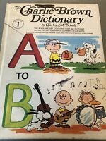 Vintage The Charlie Brown Dictionary 8 Vol Book Set Charles Schulz Peanuts