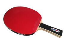 Custom Table Tennis Black Advance Table Tennis Bat + Free Case + Protectors