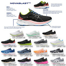 Asics Novablast Trampoline Mens Womens Road Running Cushion Shoe Sneakers Pick 1