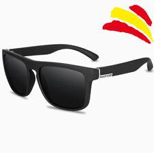 Gafas de sol polarizadas cuadradas de diseño QUISVIKER, gafas de sol para hombre