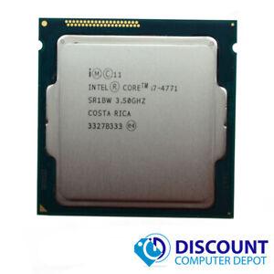 Intel Core i7-4771 3.5Ghz Quad-Core CPU Computer Processor LGA1150 Socket SR1BW