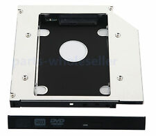 2nd SATA HDD SSD HD Hard Drive Caddy Adapter for MSI GE620DX FX620DX DVR-TD10RS