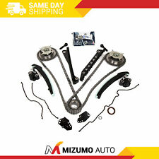 Timing Chain Kit Cam Phaser Cover Gasket Fit 04-10 Ford 5.4 TRITON 3-Valve