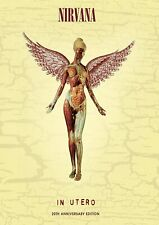 More details for nirvana in utero print a4 and a3 wall art poster decor artwork