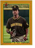 CJ Abrams 2020 Bowman 1990 Bowman 5x7 Gold #90B-CA /10 Padres