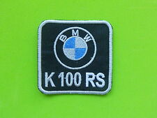 BMW K100RS PATCH TOPPA  RICAMATA TERMOADESIVA CM.5,5X5,5