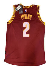 New Kyrie Irving Small Mens Cleveland Cavaliers Adidas Red Swingman Jersey NWT