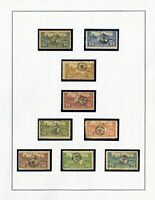 Hungary Mint Stamp Overprint Lot of 25 Collection