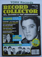 RECORD COLLECTOR MAGAZINE - Issue 240 August 1999 - Elvis / Beautiful South
