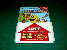 PAC-MAN : Fiddle Faddle ACTIVITY BOOK Promo DISPLAY @ 1980s Bally Midway ARCADE