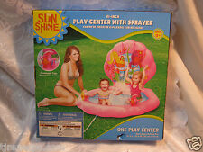 """Sun Shine 61"""" Play Center with Sprayer kids swimming pool Ages 3+"""