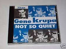 CD - GENE KRUPA - NOT SO QUIET - Musica Jazz 1997