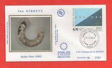 FDC - Jan DIBBETS - Spoleto Floor - 1982   (365)