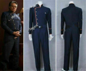 Battlestar Galactica Commander William Adama Uniform Cosplay Costume