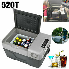 50L/52QT Portable Mini Freezer Compressor Fridges Outdoor Car Cooler Freezer 12V