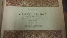 BRIDGE: primo libro di pezzi di organi: musica SCORE (M10H11)