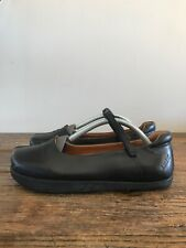 Gorgeous Kalso Earth Shoe Solar Black Leather Mary Janes Size 7 B