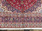 "8'x11'4"" Fine Handmade wool Authentic Handmade wool 1950's area  Oriental rug"