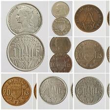 Monnaies Réunion Francs 1816 - 1970 France Colonie Choisissez votre monnaie !