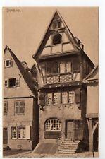 DAMBACH Bas Rhin Alsace CPA 67 Maison alsacienne