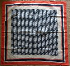 VINTAGE ROYAL VIKING LINE SCARF IN EXCELLENT  CONDITION