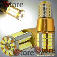 4 Lampade T10 LED Gold Style LED 57 SMD NO Errore BIANCO Canbus Luci Posizione