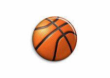 Ballons - Basketball 1 - Badge 25mm Button Pin