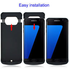 Ultra-Thin Power Bank Battery Backup Case Charger Cover F Samsung Galaxy S7 Edge