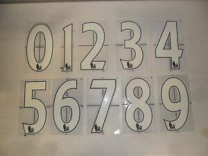 2613 Lextra Premier League Player Size Number Shirt Jersey Numbers Shirt Velvet