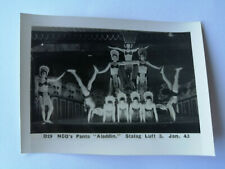 Original WW2 prisoner of War photo NCO's Panto ALADDIN SHOW stalag luft 3 D29