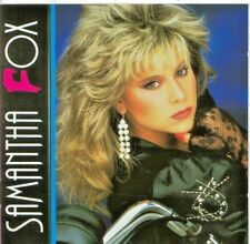 SAMANTHA FOX - 'NOTHING,S GONNA STOP ME NOW' CD & PHOTO {LIMITED EDITION}  !!