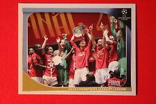 PANINI CHAMPIONS LEAGUE 2008/09 # 561 UEFA CL LEGEND BLACK BACK MINT!