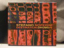 STEFANO NOFERINI - DESTINATION: DRUMS #6 CD NUOVO SIGILLATO NEW TRIBAL HOUSE