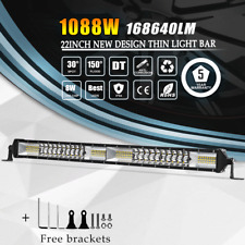 """20inch 2ROW LED WORK LIGHT BAR COMBO SUV UTE ATV OFFROAD JEEP TRUCK FORD 22/21"""""""