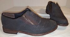 NEW WOMAN'S ANTHROPOLOGIE FREE PEOPLE BLACK BALBOA DARBY SHOES SIZE 6 36