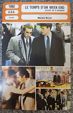US drama Scent Of A Woman Al Pacino Chris O'Donnell French Film Trade Card