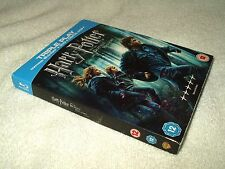 Blu Ray Movie Harry Potter and the Deathly Hallows Part 1 with card slipcover