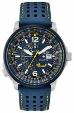 Citizen Men's Eco-drive Promaster Nighthawk Blue Angels Watch Bj7007-02l