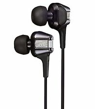 100 Genuine JVC Kenwood Ha-fxt200 Twin System Hi-speed In-ear Headphone