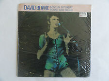"""DAVID BOWIE DRIVE IN SATURDAY/ ROUND AND ROUND 1983 UK 7"""" RCA BOW 501 LIFETIMES"""