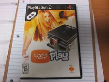 EyeToy Play for PS2 Complete VERY GOOD CONDITION.