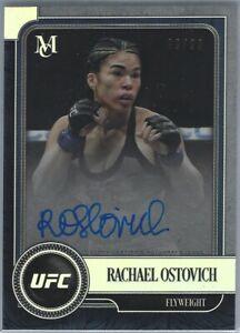 RACHAEL OSTOVICH 2019 Topps UFC Museum AUTO #99/99 SP Card MA-RO