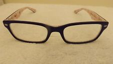 20a5254767 CLASSIC Ray Ban DESIGNER FRAMES FOR Glasses RB5206 5014 Red Interior on  Black
