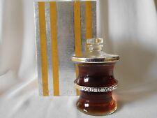 Vintage GUERLAIN SOUS LE VENT 2.7 OZ BACCARAT Perfume, 1937 Ltd Edition of 5000