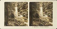 Germania Baden-Baden Cascade Gerolsauer Foto Stereo Vintage Analogica PL62L11