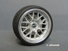 99068-18 Alufelgen 1:18 BBS RS GT-Design 18 Zoll  5/5 mm pn inkl. Logo