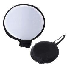 """16""""/40cm Portable Soft Box Flash Diffuser Round Speedlite Dome For Canon Nikon"""