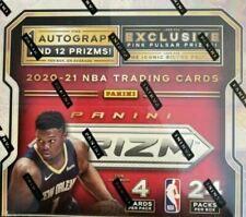 2020-21 Prizm Basketball 24pk Retail Box Factory Sealed AVG 1 AUTO PER BOX