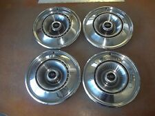 "1968 68 Buick Riviera Hubcap Rim Wheel Cover Hub Cap 15"" OEM USED 1016 SET 4"